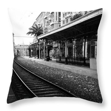 Old World Charm Throw Pillow by Ivy Ho
