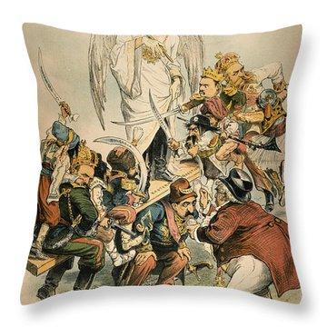 Otto Von Bismarck Throw Pillow by Granger