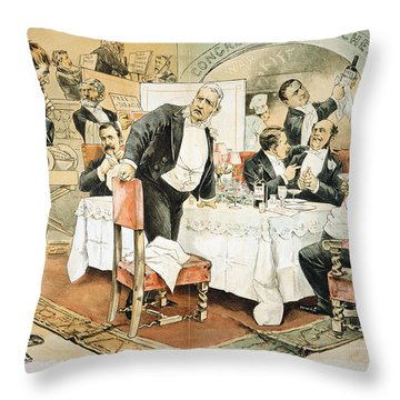 Populist Movement Throw Pillow by Granger