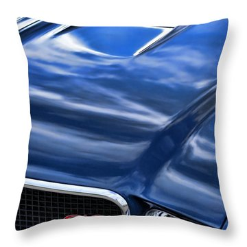 1970 Buick Gs 455  Throw Pillow by Gordon Dean II