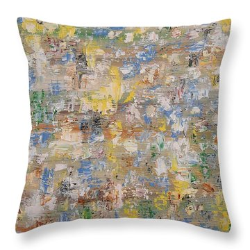 Abstract 189 Throw Pillow by Patrick J Murphy