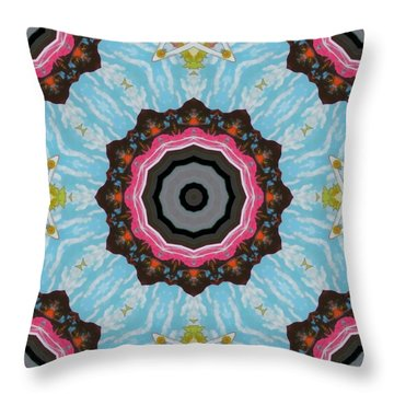 Abstract 2 Throw Pillow by Jeff Kolker