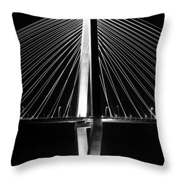 Arthur Ravenel Jr. Bridge  Throw Pillow by Dustin K Ryan