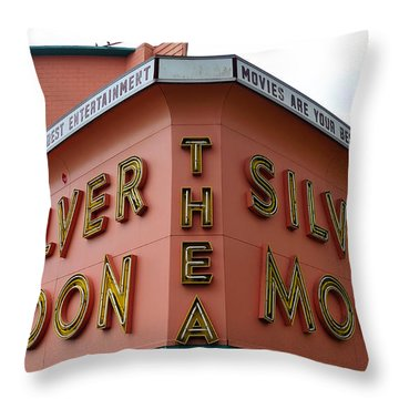 Classic Drive In Throw Pillow by David Lee Thompson