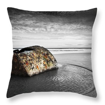 Coastal Scene Throw Pillow by Svetlana Sewell