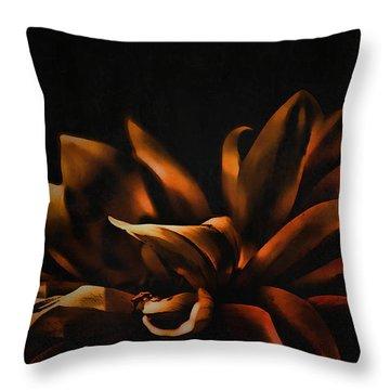 Elegance Throw Pillow by Bonnie Bruno