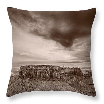 Grandview Canyonlands National Park Utah Throw Pillow by Steve Gadomski