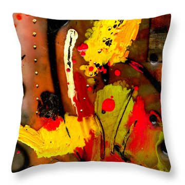 Growing Throw Pillow by Angela L Walker