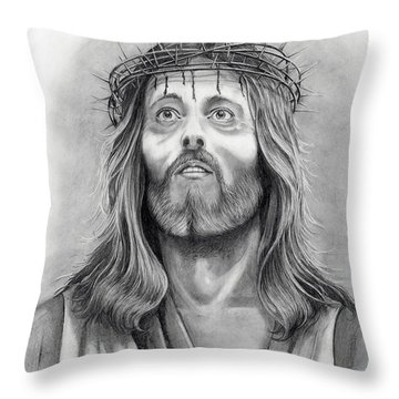 King Of Kings Throw Pillow by Murphy Elliott