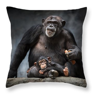 Mommy Pillow Throw Pillow by Jamie Pham