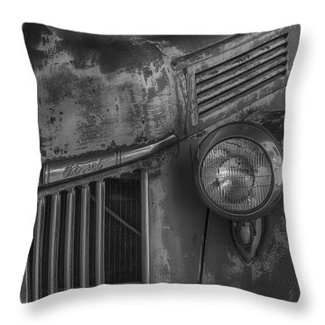 Old Ford Pickup Throw Pillow by Garry Gay