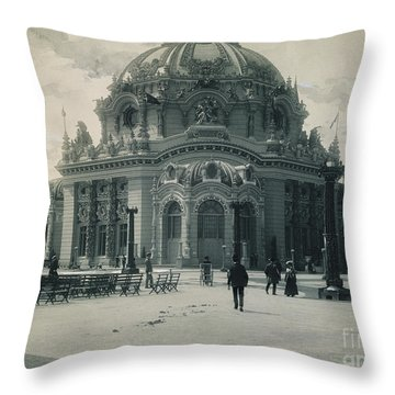 Pan-american Expo, 1901 Throw Pillow by Granger