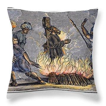 Polycarp Of Smyrna Throw Pillow by Granger