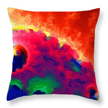 Revolution Throw Pillow by Stephen Younts