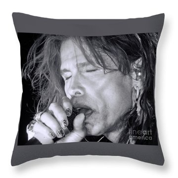 Steven Throw Pillow by Traci Cottingham
