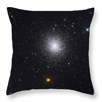 The Great Globular Cluster In Hercules Throw Pillow by Roth Ritter