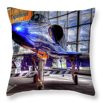 The Navy's Blue Angel Throw Pillow by David Patterson