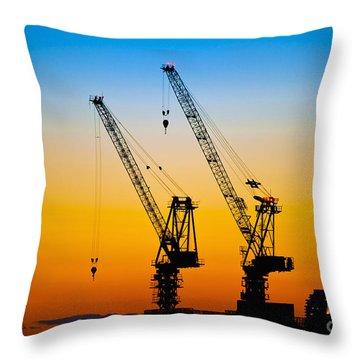 Tokyo Throw Pillow by Bill Brennan - Printscapes