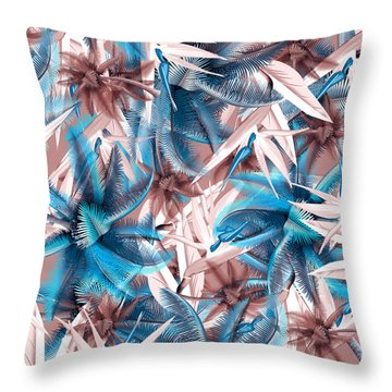 Tropical  Throw Pillow by Mark Ashkenazi