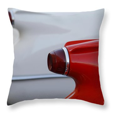 Vette Tails Throw Pillow by Dennis Hedberg