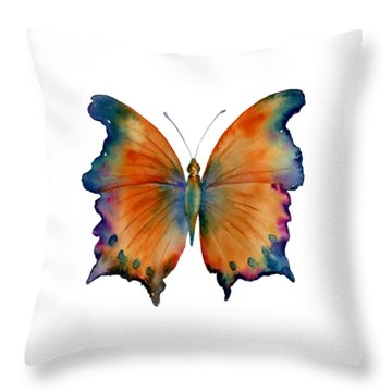 1 Wizard Butterfly Throw Pillow by Amy Kirkpatrick
