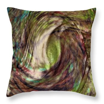 11-03-11 Throw Pillow by Gwyn Newcombe