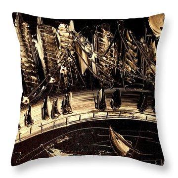 Jazz Throw Pillow by Mark Kazav
