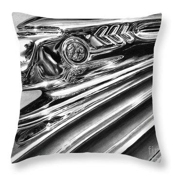 1937 Pontiac Chieftain Abstract Throw Pillow by Peter Piatt