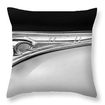 1947 Dodge Gi Joe Hood Ornament 2 Throw Pillow by Jill Reger