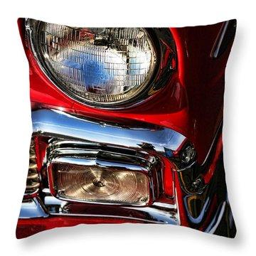 1956 Chevrolet Bel Air Throw Pillow by Gordon Dean II