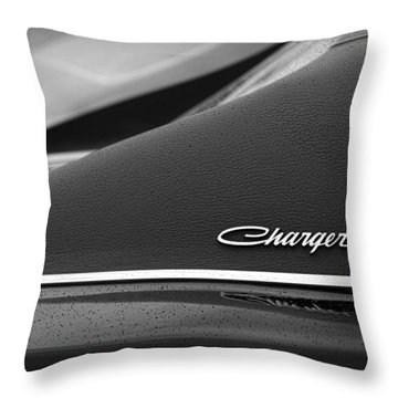 1968 Dodge Charger Throw Pillow by Gordon Dean II