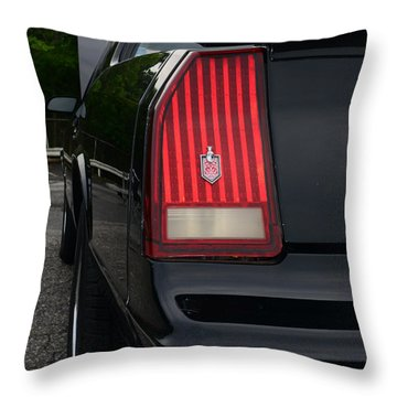 1988 Monte Carlo Ss Tail Light Throw Pillow by Paul Ward