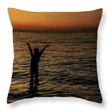 A New Day Throw Pillow by Jon Burch Photography