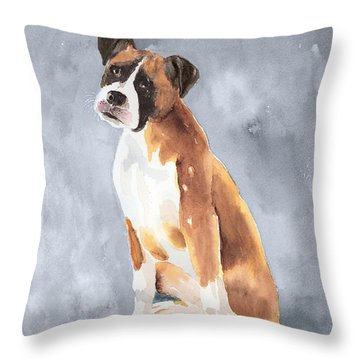 Buddy Throw Pillow by Arline Wagner