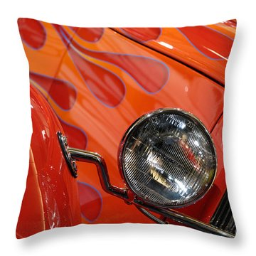 Hot Rod Ford Coupe 1932 Throw Pillow by Oleksiy Maksymenko