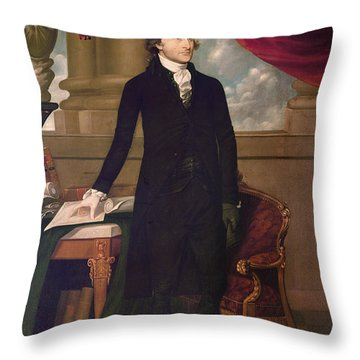 John Jay (1745-1829) Throw Pillow by Granger