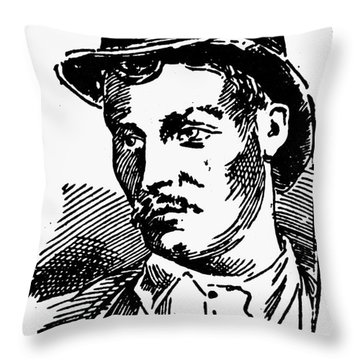Mafia, 1891 Throw Pillow by Granger