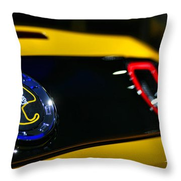 2012 Ford Mustang Boss 302 Laguna Seca Throw Pillow by Gordon Dean II