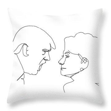 2016 Election Throw Pillow by Harold Belarmino