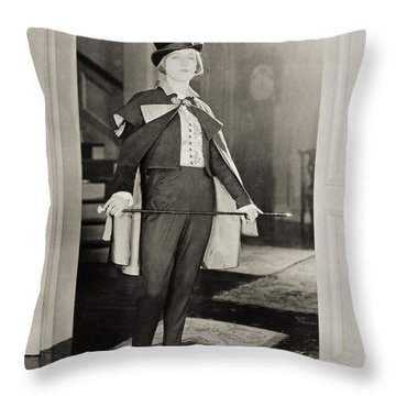 Silent Film Still Throw Pillow by Granger