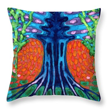 Always Young Throw Pillow by Wojtek Kowalski
