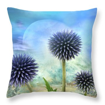 Avantgarde Throw Pillow by Manfred Lutzius