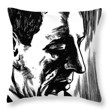 Sergei Rachmaninoff Throw Pillow by Granger
