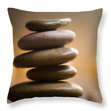 Wellness Throw Pillow by Kati Molin
