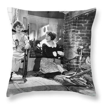 Silent Film Still Throw Pillow by Granger