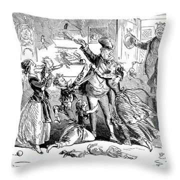 Dickens: David Copperfield Throw Pillow by Granger