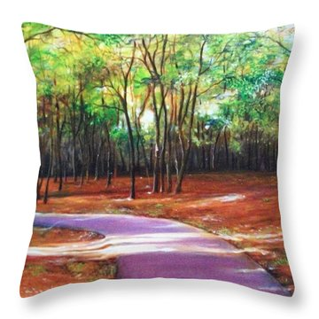 Home Throw Pillow by Emery Franklin