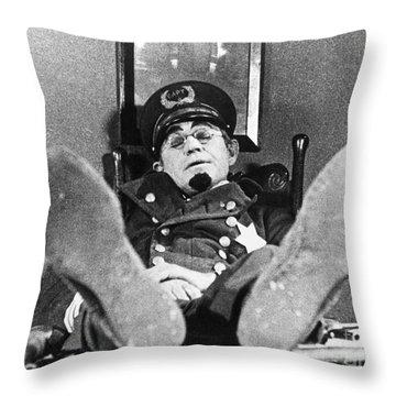 Keystone Kops Throw Pillow by Granger