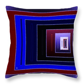 88 Throw Pillow by John Krakora
