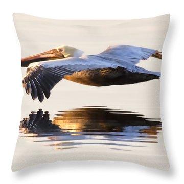 A Closer Look Throw Pillow by Janet Fikar